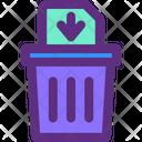 Delete Permanently File Icon