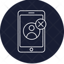 Delete Phone User Icon