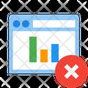 Delete Report Web Icon
