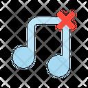 Remove Track Music Icon