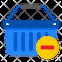 Delete To Basket Icon