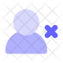 Delete User Delete Account Remove User Icon