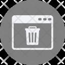 Delete webpage Icon