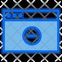 Delete Website Icon