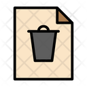 Deleted Document Icon