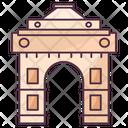 Delhi Gate Indian Landmark Old Delhi Icon