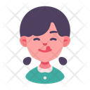 Delicious Hungry Girl Icon