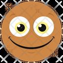 Delighted Emoticon Smiling Emotag Emoji Icon