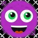 Delightful Emoticon Icon