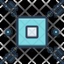 Delimit Delimitate Define Icon