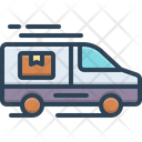 Deliver Delivery Truck Icon