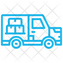 Deliver Shipping Package Icon