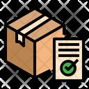 Delivered Recieved Signature Icon