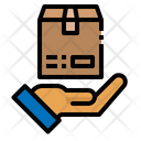 Shipping Hand Package Icon