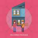 Delivered Package Delivery Icon
