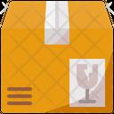 Box Delivery Fragile Icon