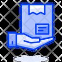 Delivered Box Delivered Parcel Delivered Package Icon
