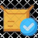 Delivered Box Icon