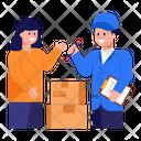Delivered Logistics Icon