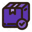 Delivered Package Delivery Shipping Icon