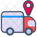 Delivered Truck Delivery Shipping Icon