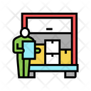Delivering Logistics Delivering Service Icon