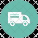 Delivery Transport Van Icon