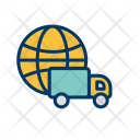 Delivery Shipping Global Icon