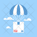 Delivery Air Emergency Icon
