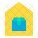 Door To Door Delivery Home Delivery Logistics Icon