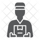 Delivery Courier Shipping Icon
