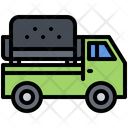 Delivery Truck Furniture Icon