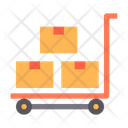 Box Cart Parcel Icon