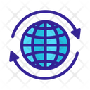 Delivery International Planet Icon