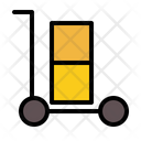 Delivery Troller Shipping Icon
