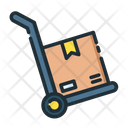 Delivery Delivery Trolley Delivery Box Icon
