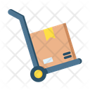 Delivery Trolley Delivery Box Trolley Icon