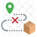 Delivery Fail Loose Icon