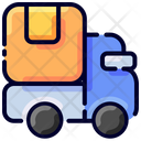 Delivery Truck Ecommerce Icon