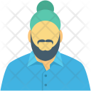 Delivery Salesman Guy Icon