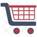 Delivery Trolley Cart Icon