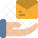 Delivery Hand Mail Icon