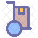 Delivery Transportation Courier Icon