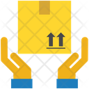 Logistics Delivery Hand Icon