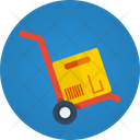 Delivery Delivery Trolly Delivery Box Icon