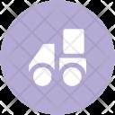 Delivery Logistics Truck Icon