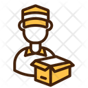 Delivery Courier Order Icon