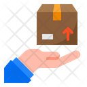 Delivery Hand Shipping Icon