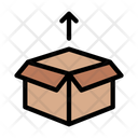 Delivery Parcel Unboxing Icon