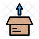 Package Box Unboxing Icon